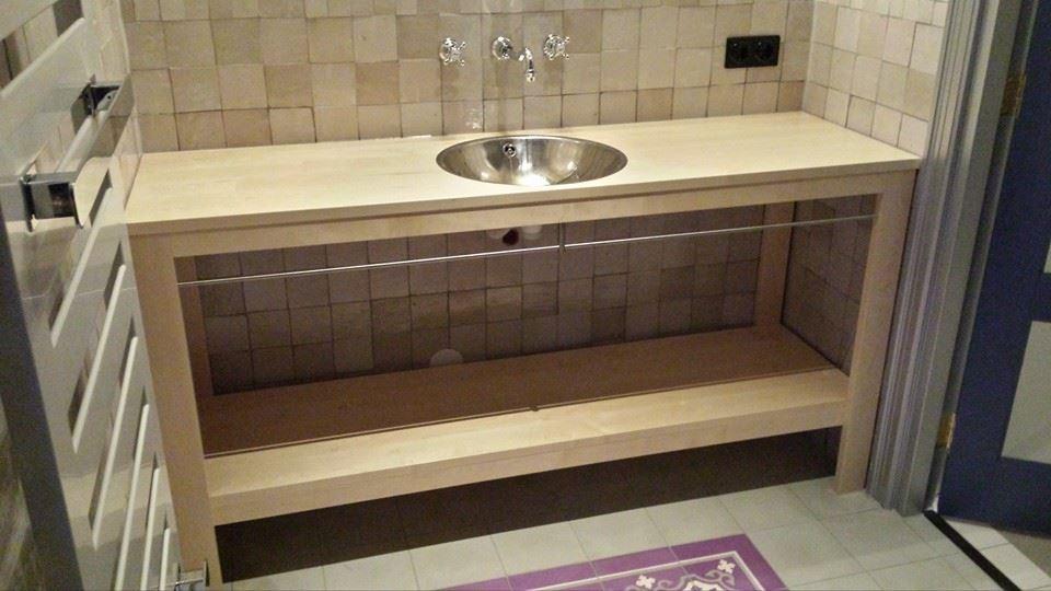 Badkamermeubels op maat meubelmakerij wielink